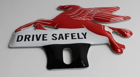 Pegasus License Plate Topper