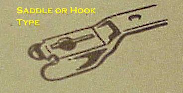 7.5 inch Windshield wiper blade NEW Hook Saddle type