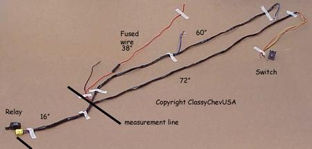 1951 chevy styleline wiring harness kit 5 quot amber fog lights amp fog lamp wiring harness new 12v