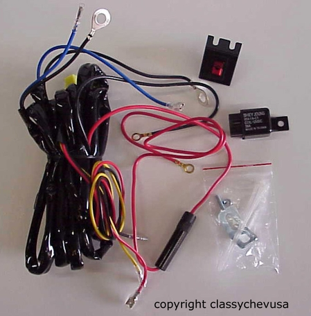 fog lights chevy hudson nash buick oldsmobile pontiac ... wire harness diagram 2000 buick lesabre 1948 buick wire harness