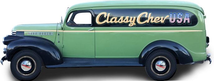 ClassyChevUSA com - Reproduction parts for 1939-65 Chevy
