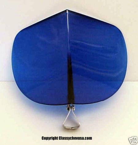 1939-1948 Chevrolet & Ford BLUE Air Deflector Plastic