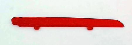 1947-1948 Chevrolet Car Plastic Insert for Accessory Hood Ornament -  RED