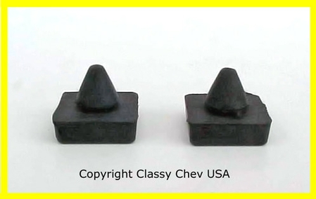 1964-1972 Chevrolet Trucks Window Stop Bumpers PAIR #308-64
