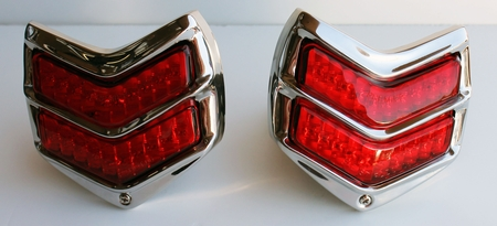 1940 Ford LED Tail Light Assembly - PAIR