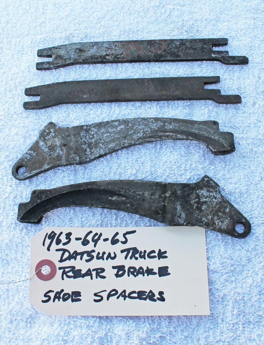 1963 - 1965 Datsun L-320 Pickup Truck Emergency Brake Levers and Spacers