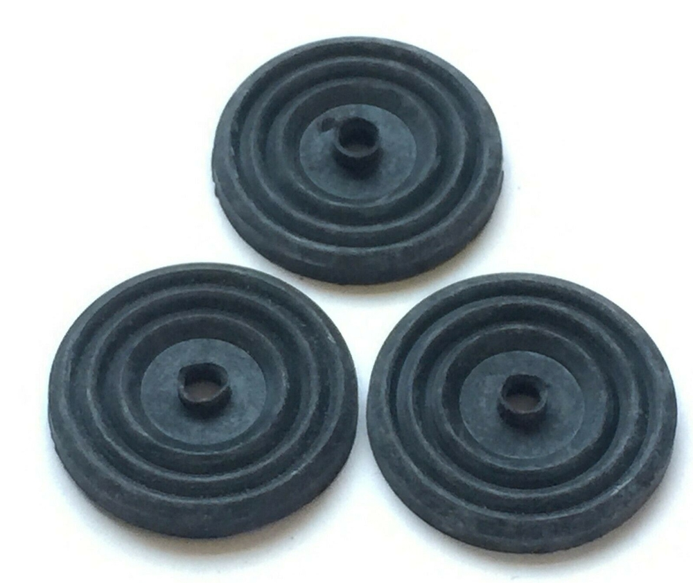 1934 - 1941 Chevy Truck Headliner Washers  Rubber Set 3 pcs