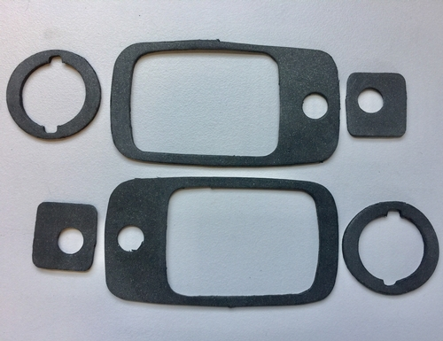 1967-1972 Chevy GMC Trucks Outside Handle and Lock Gaskets SET 6 piece #ST-249