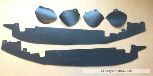 1967-1972 Chevy GMC Trucks Front Fender Rear Inner Dust Shield Kit #ST-180