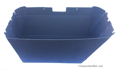 1964-1966 CHEVY Truck GLOVE BOX LINER w/ stainless steel clips #ST126