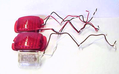 1940-1953 Chevrolet LED Tail Lights & Back Up Light - 3 Pieces