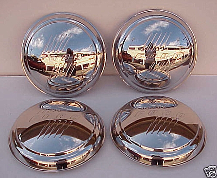 1946 Ford Car Stainless steel hub caps Set of 4