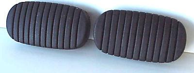 1938-1952 & 1955-1957 Chevrolet CAR pedal Pads - 2 Pieces