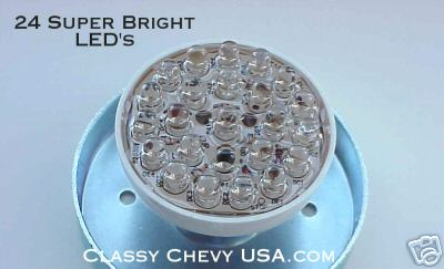 24 LED Super Bright #1157 Tail Light Red - Pair