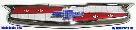 1955 Chevrolet Hood Emblem Assembly - TP1022
