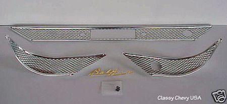 1955 Chevrolet Chevy Bel Air Dash Trim Set
