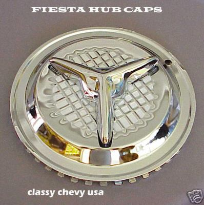 Fiesta Hub Caps - 14 inch set of 4
